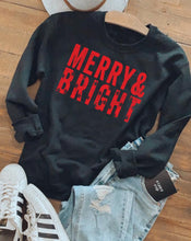 Load image into Gallery viewer, Merry & Bright Sweatshirt