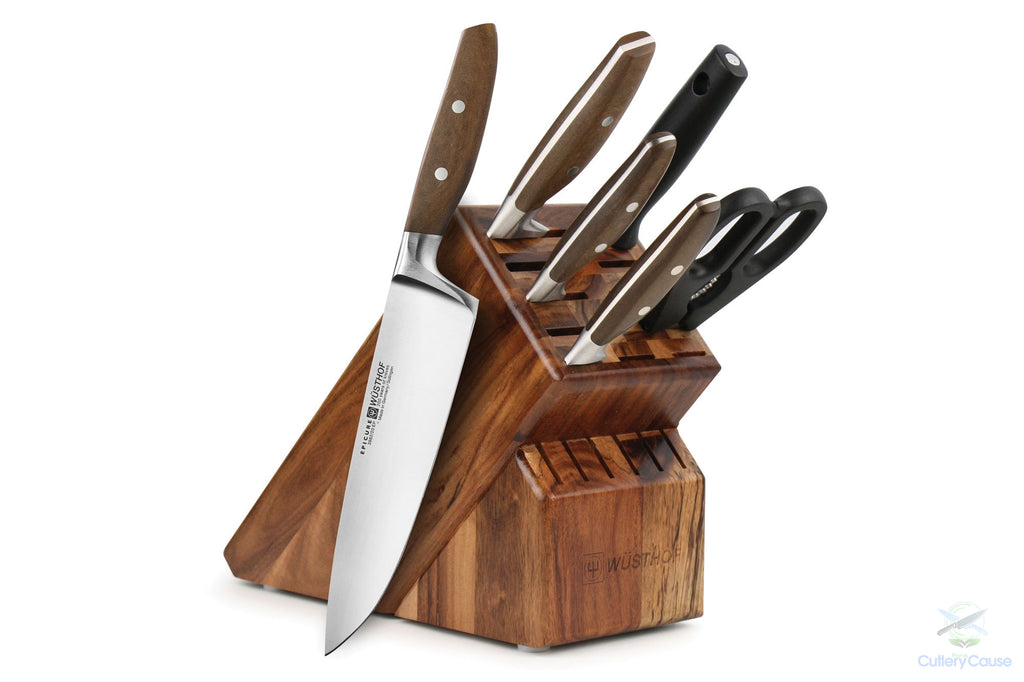 Wusthof Epicure 7 Piece Block Set - Cutlery for a Cause -  -  - 1