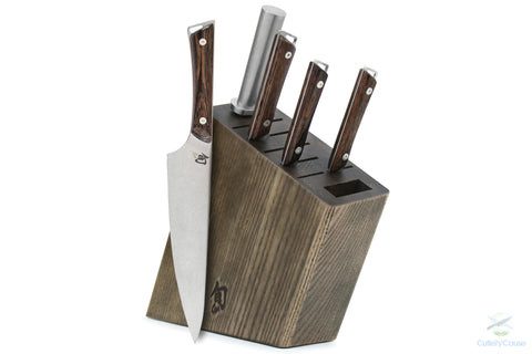 Shun Kanso 6 piece Knife Block Set - Cutlery for a Cause -  -  - 1