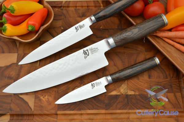 Shun Premier 3 Piece Chef S Starter Set Cutlery For A Cause