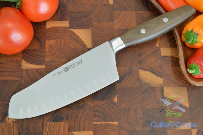 "Wusthof Epicure 7"" Santoku w/ HE - Cutlery for a Cause -  -  - 1"