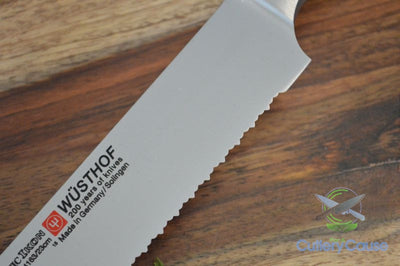 Wusthof Classic Ikon Double Serrated Bread Knife Blade