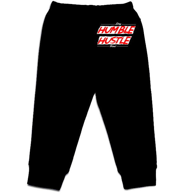 Humble Hustle  Baby Pants [Black] - Crochet World Art