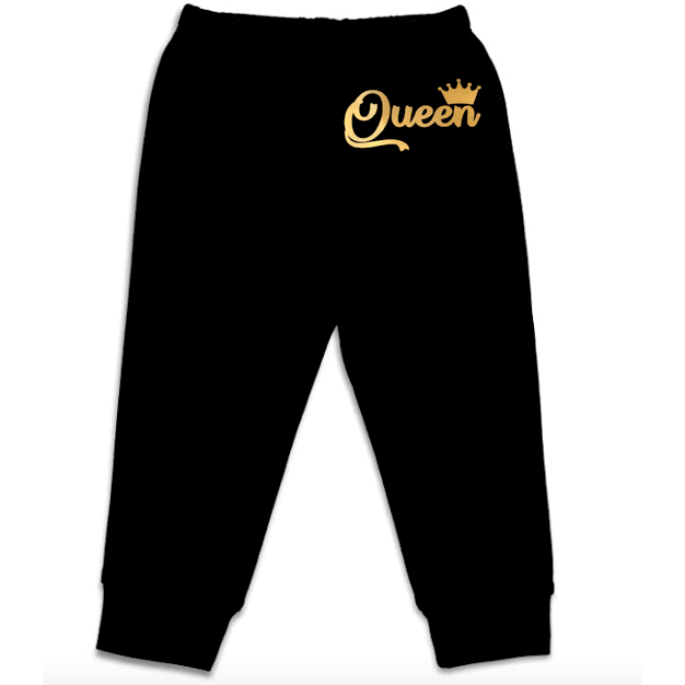 Royal Queen Baby Pants [Black]