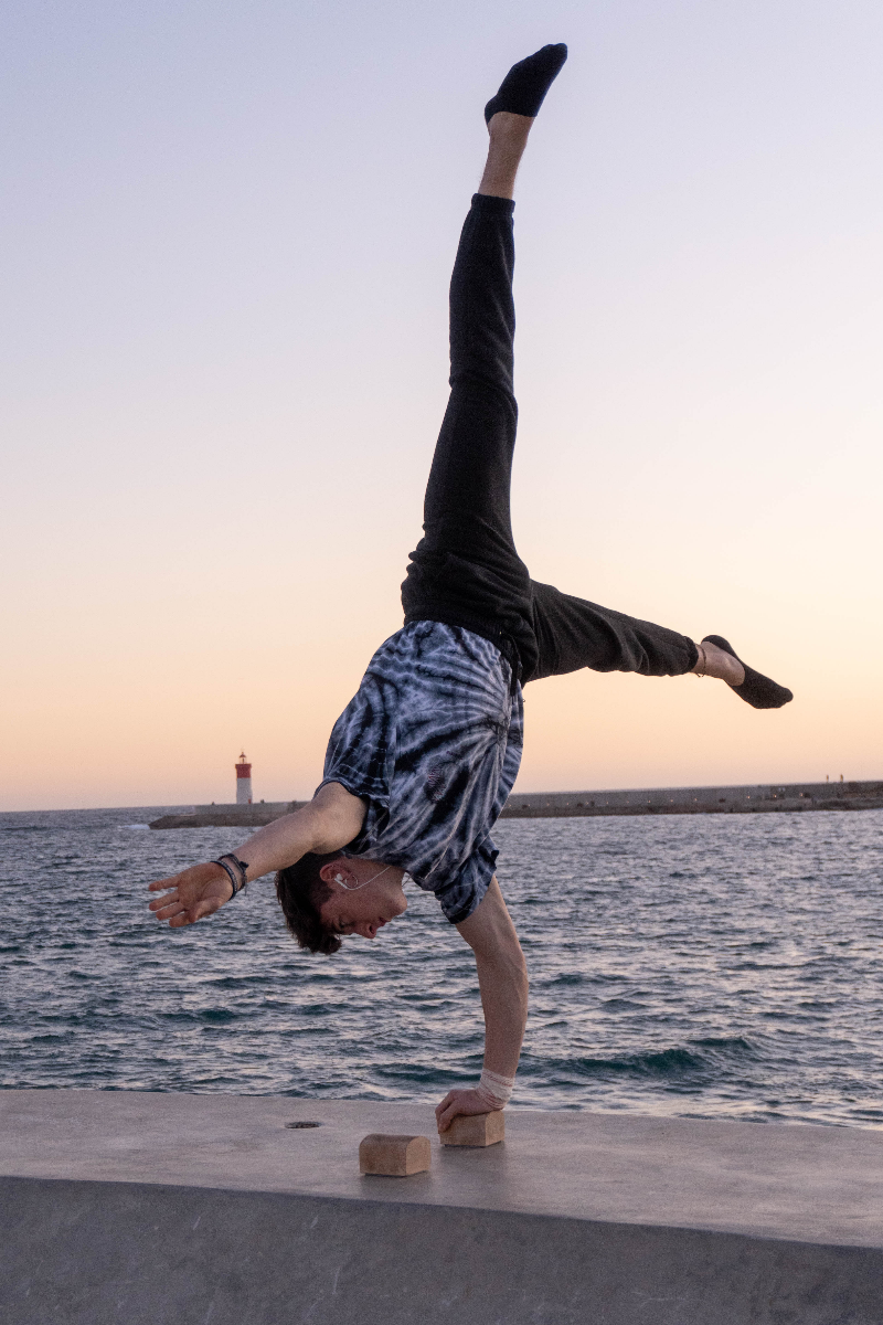 Pino en calistenia tacos, ignittion one arm handstand