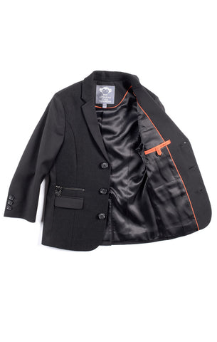 Appaman Black Techy Blazer - Young Timers Boutique  - 1