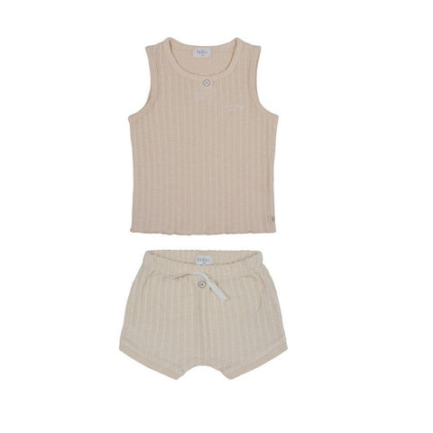 Lilette Barely Blush Wide Ribbed Take Me Home Set