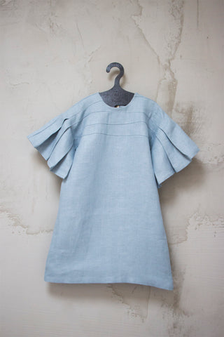 Manoko Girls' Sky Folded Dress