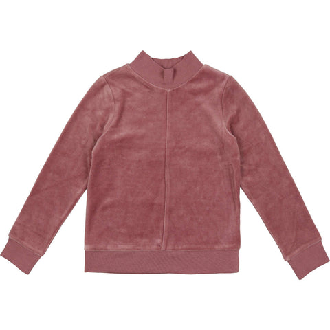 Urbani Mauve Velour Sweater