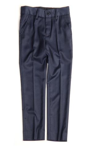 Appaman Navy Blue Suit Pants - Young Timers Boutique