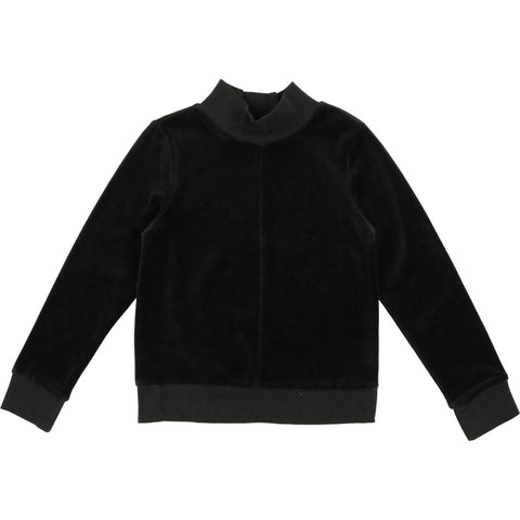 Urbani Black Velour Sweater