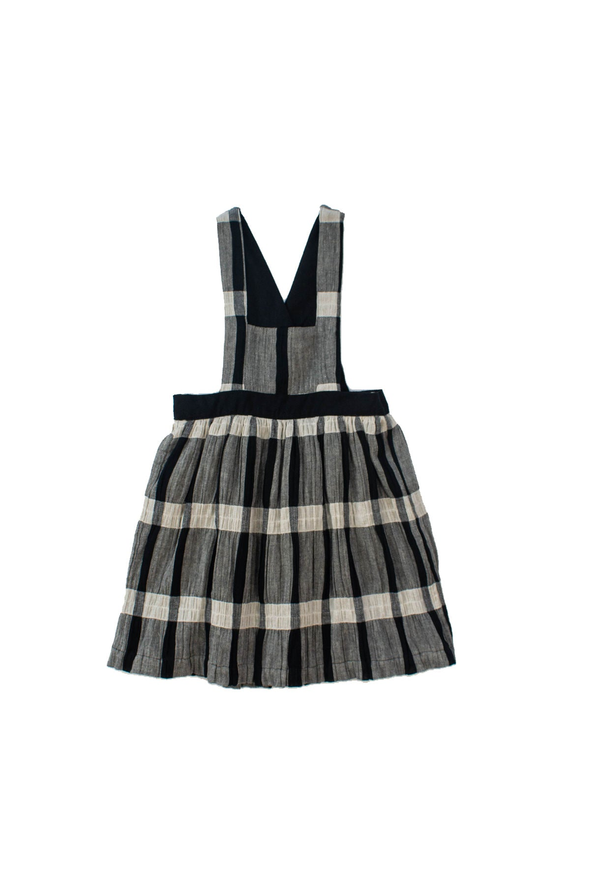 Kokori Black Plaid Aria Dress
