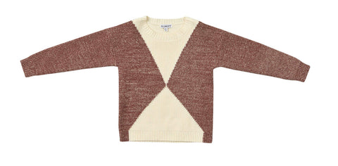 Blumint Caramel Two Tone Sweater