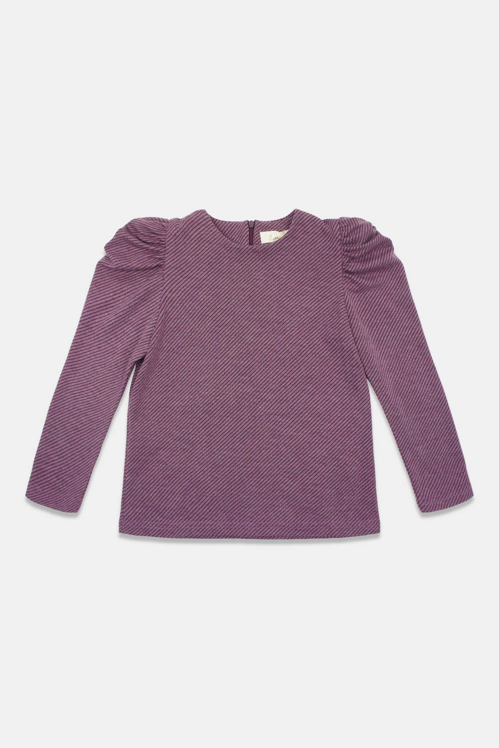 Alitsa Mauve Puff Sleeve Top