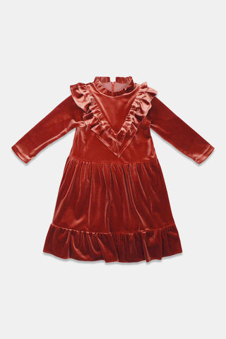 Alitsa Quince Velvet Dress