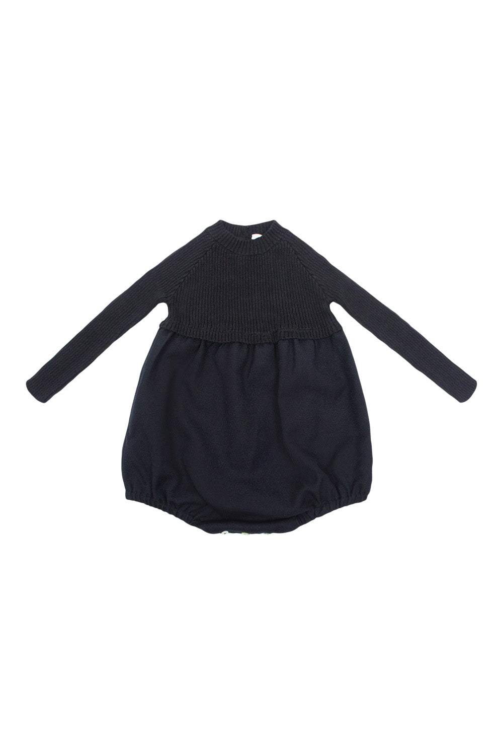 Analogie Black Knit Bubble