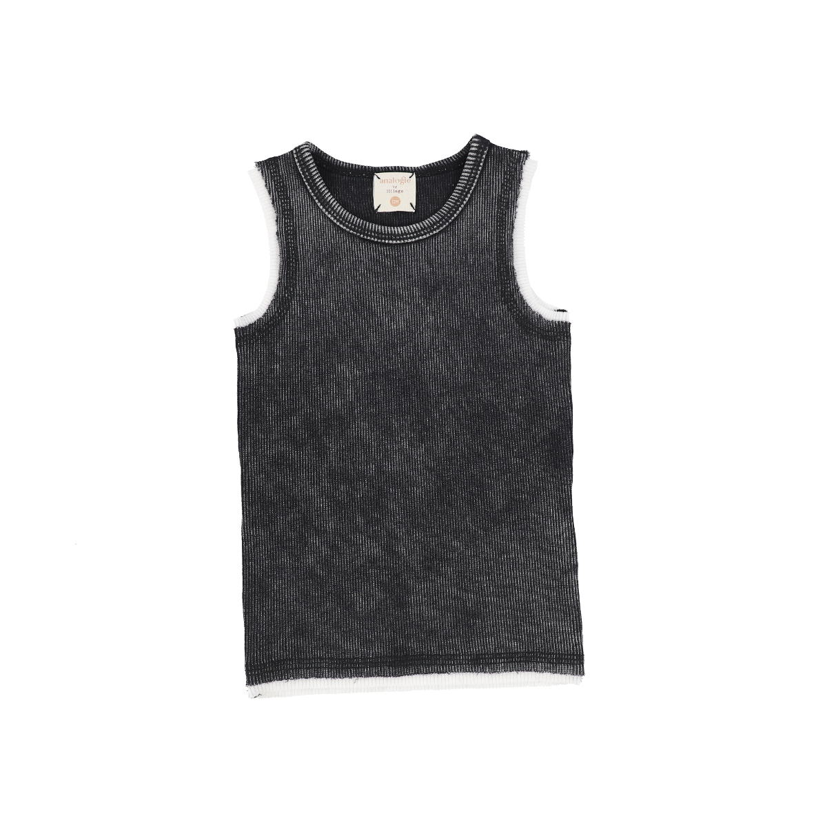 Analogie Black Wash Denim Tank