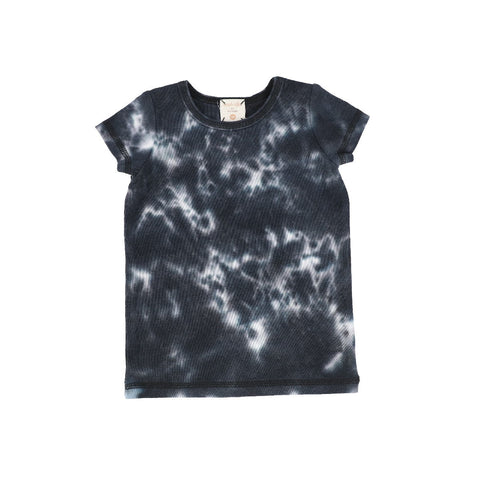 Analogie Black Watercolor Short Sleeve Tee