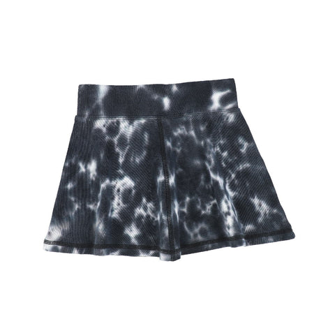 Analogie Black Watercolor Skirt