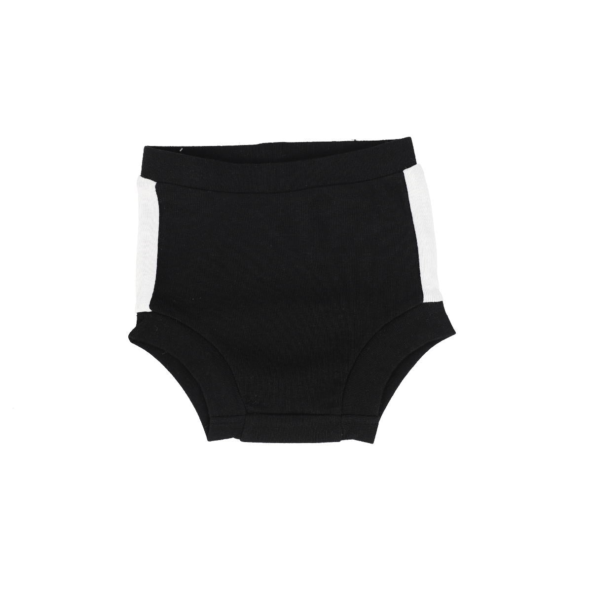 Analogie BlackWhite Linear High Waisted Bloomers