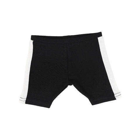 Analogie BlackWhite Linear Shorts