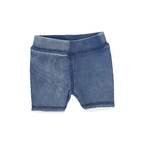 Analogie Bue Wash Denim Shorts