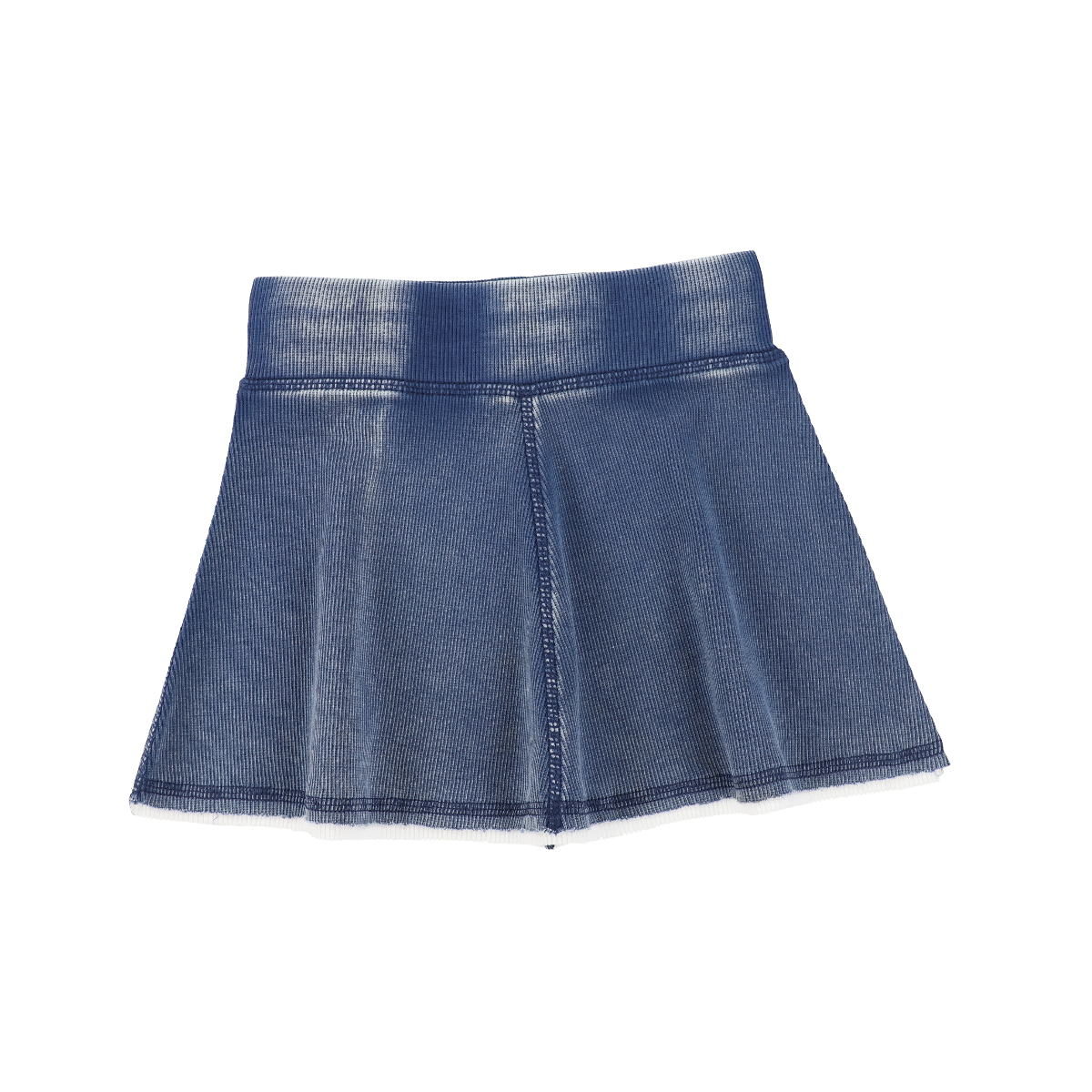 Analogie Blue Wash Denim Skirt
