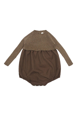 Analogie Dark Walnut Knit Bubble