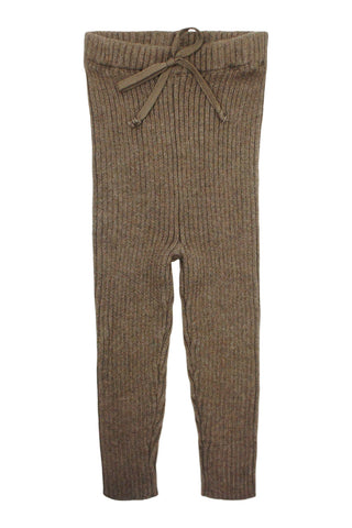 Analogie Dark Walnut Knit Long Legging