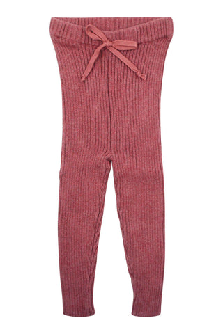 Analogie Mauve Knit Long Legging