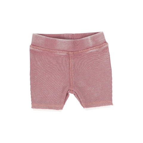 Analogie Pink Wash Denim Shorts