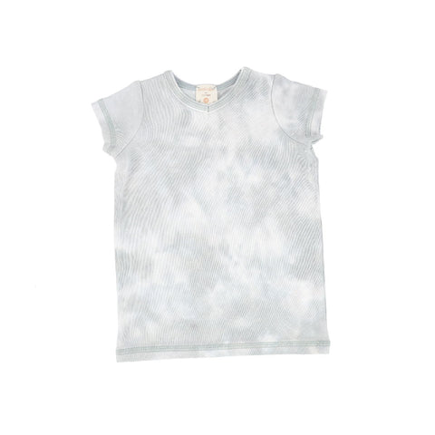 Analogie Seafoam Watercolor Short Sleeve V-Tee
