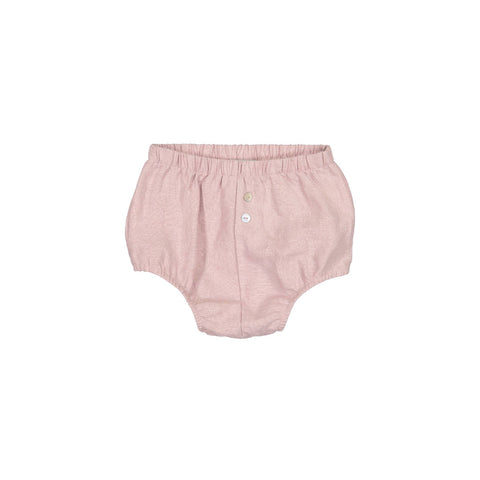 Analogie Baby Girls' Mauve Linen Bloomers
