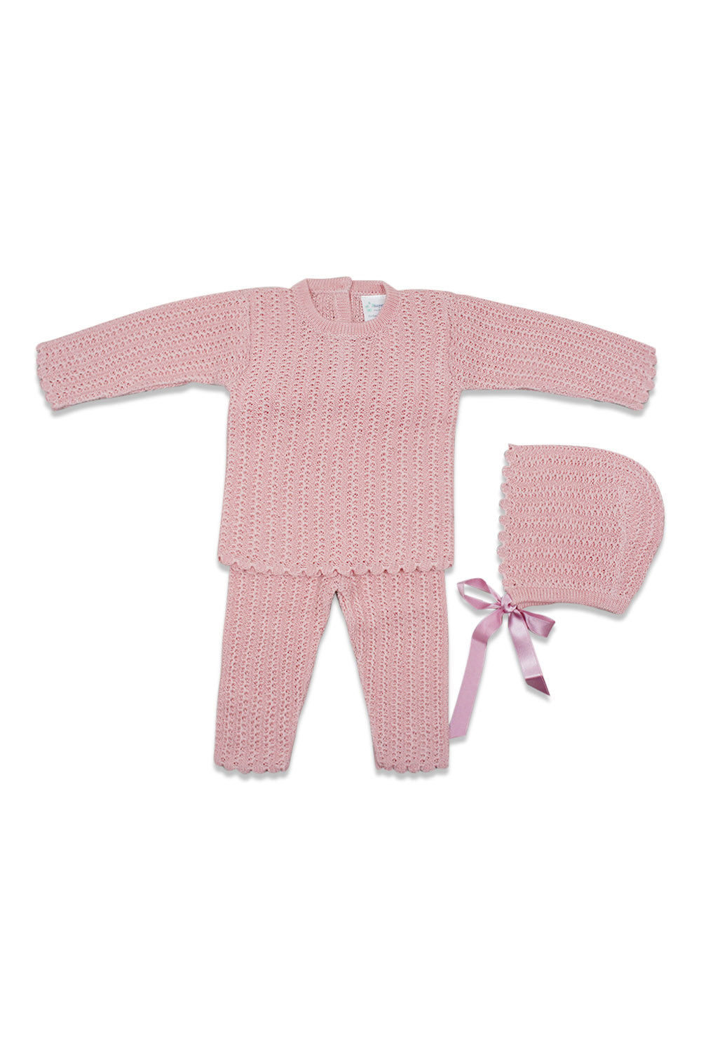 Antonella Pink Knit Set