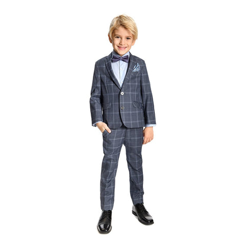 Appaman Stargazer Plaid Two Piece Mod Suit