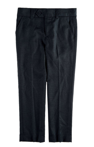 Appaman Black Mod Suit Pants - Young Timers Boutique  - 1