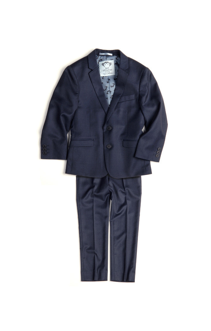 Appaman Navy Blue Mod Suit - Young Timers Boutique  - 3