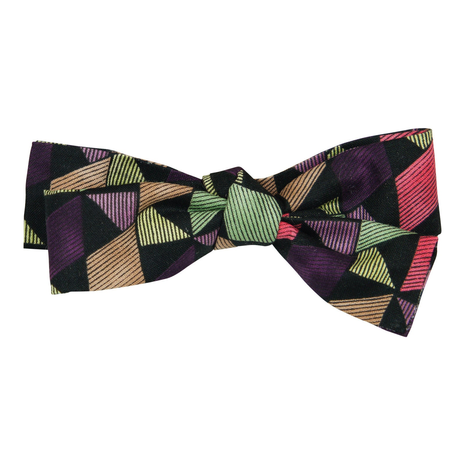 Arbii Label Funky Shapes Bow Tie, Standard size, Oversized - Young Timers Boutique  - 2
