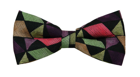 Arbii Label Funky Shapes Bow Tie, Standard size, Oversized - Young Timers Boutique  - 1