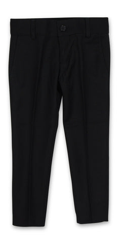 Armando Boys' Black Slim Fit Pant