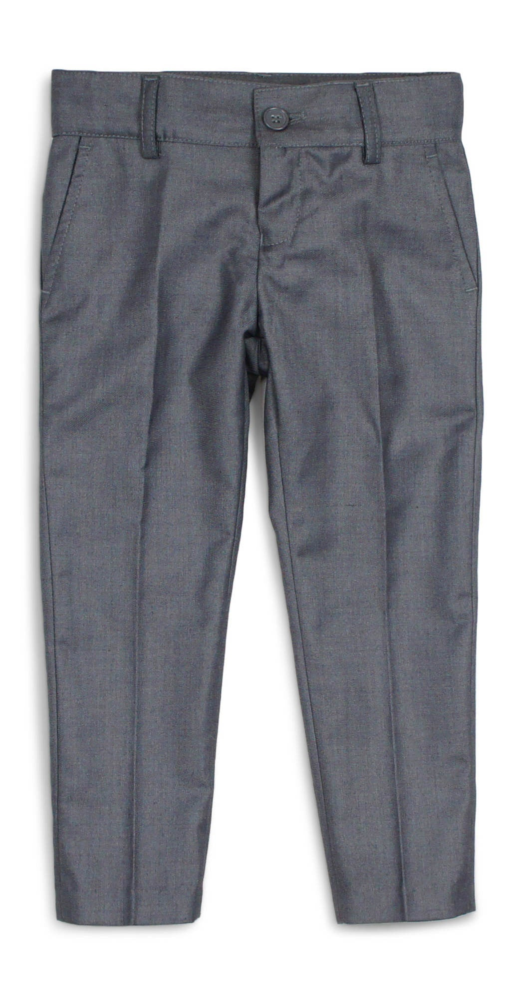 Armando Boys' Medium Grey Slim Fit Pant