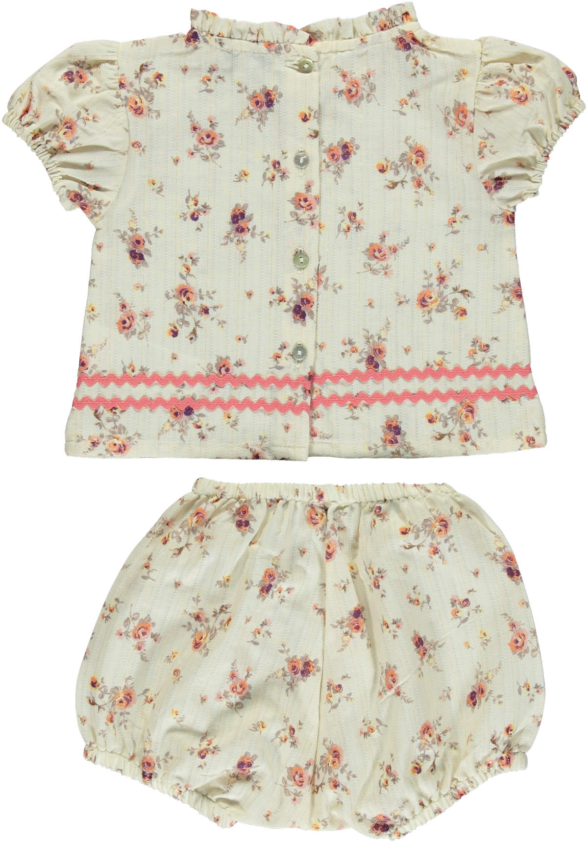 Bebe Organic Laura Old Flowers Set