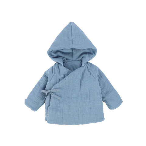 Bee & Dee Mid Blue Reversible Spring Jacket