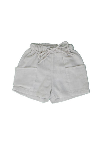 Belati Oatmeal BIG POCKETS LOOSE BERMUDAS