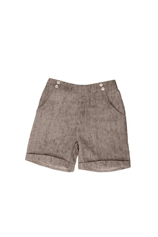 Belati Summer Brown DISTRESSED SHORTY BERMUDAS
