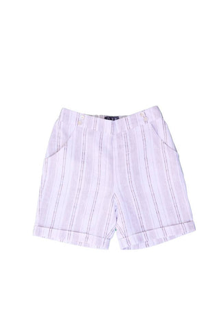 Belati White and Taupe SHORTY BERMUDAS