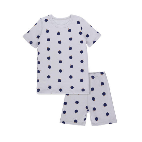 Bon Rever Blue Apple Short Pj's