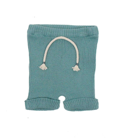 Buho Unisex-Baby Mint Knitted Shorts