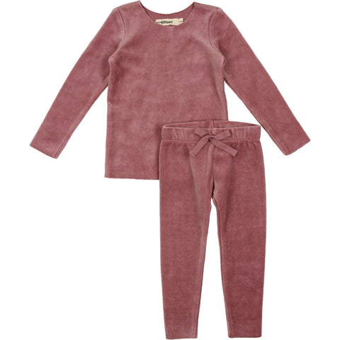 Urbani Mauve Velour Set