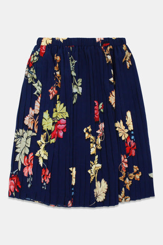 Christina Rohde Blue Printed Skirt